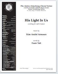 His light in us (satb)