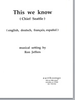 this we know (satb)